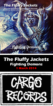 The Fluffy Jackets - Fighting Demons - out 1st March 2014