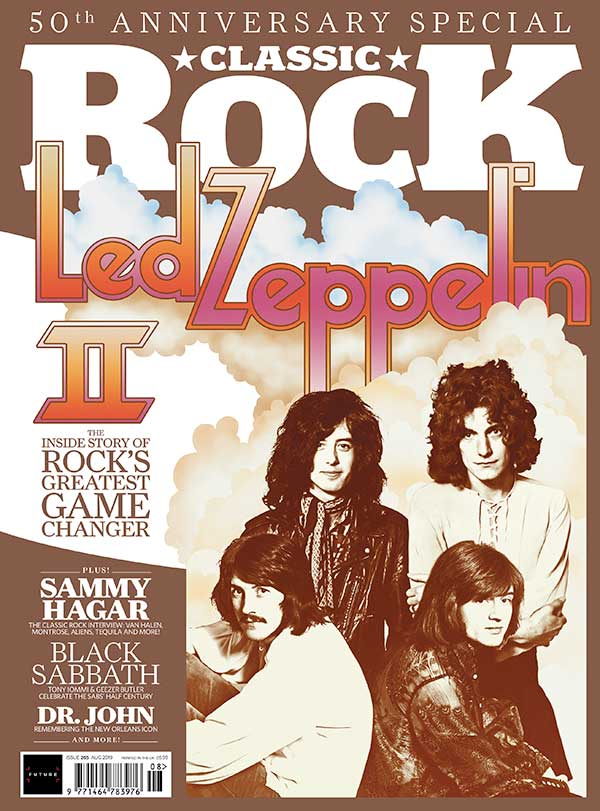 Classic Rock Magazine cover #265 - featuring The Fluffy Jackets! CD covermount + welcome back interview