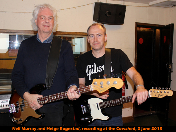 Neil Murray Bass guitarist w Helge