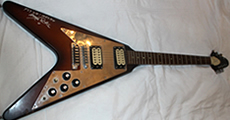 Gibson Flying V 1974 - previously owned by Manny Charlton