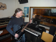 Fluffy Jackets bassist 