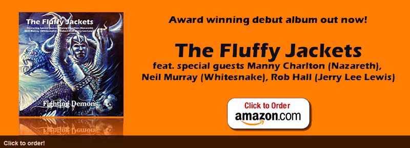 "Order your copy of The Fluffy Jackets' award winning debut album ""Fighting Demons"" Today."